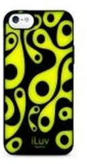 iLuv Aurora Glow in the Dark TPU Case Zwart voor Apple iPhone 5/5S