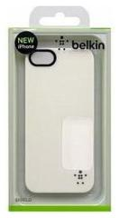 Belkin Apple iPhone 5/5S Sheer Luxe Hard Case Wit