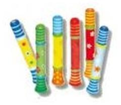 Simply for Kids Houten Trompetje Assorti