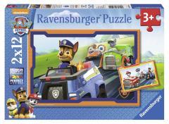 Ravensburger Paw Patrol Puzzel In Actie 2x12 Stukjes