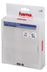 Hama 33809 CD/DVD Hoesjes 50 Pak Transparant