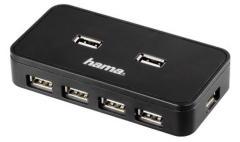Hama 39859 USB Hub 1:7+net