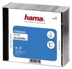 Hama 44744 CD Box 5 Pak Geseald