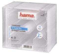 Hama 44753 CD Dubbel Box Transpirant 10 Pak