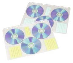 Hama 49835 CD Index Bladen voor 60 CD/DVD's