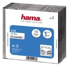 Hama 51275 CD Slim Box 10 Pak