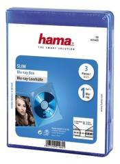 Hama 51469 BluRay Slim Box Blauw 3Pak