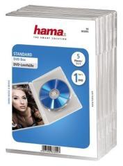 Hama 83895 DVD Box Transparant 5Pak