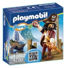 Playmobil 4798 Super4 Haaibaard
