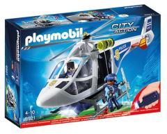 Playmobil 6921 Politiehelikopter met LED-Zoeklicht