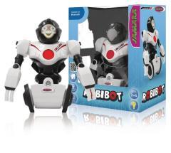 Jamara RC Robibot Robot 2+6 Channel RTR Sound Recording + Lights Wit