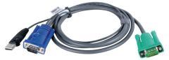 Aten 2L-5205U Kvm Special Combination Cable, Vga/usb