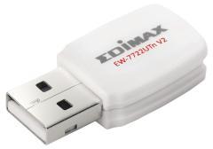 Edimax EW-7722UTN V2 Draadloze Usb-adapter N300 2,4 Ghz Wit