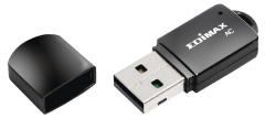 Edimax EW-7811UTC Draadloze Usb-adapter Ac600 2,4/5 Ghz (dual Band) Zwart
