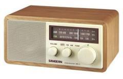 Sangean WR11 Portable Radio Bruin