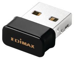 Edimax EW-7611ULB Draadloze Usb-adapter N150 2,4 Ghz Zwart