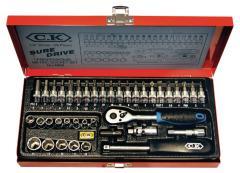C,K, CK-4655 39-delige Dopsleutel Set