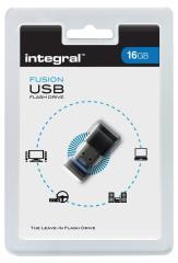 Integral FD2-16G-MICRO Usb2,0 Stick 16 Gb Fusion