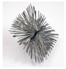 Dario Tools CMB208320 Metalen Schoorsteen Borstel 20x20cm
