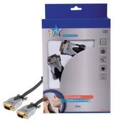 HQ HQss5177/10 Hoge Kwaliteit Vga Monitor Aansluitkabel 10,0 M