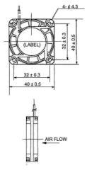 Sunon Cy 420 Dc Ventilator 40 X 40 X 20 mm