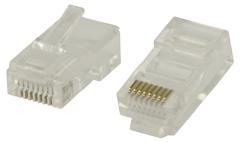 Valueline Vlcp89300t Rj45 Connectoren voor Solid Utp Cat 5 Kabels