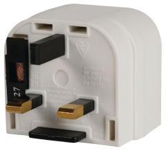 Valueline Uk-plug12 Euro Adapter Naar Uk Stekker Wit
