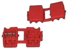 Fixapart Splice-red Klemconnectors Rood