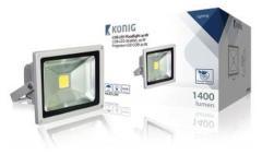 Konig KNLEDFL20W LED Bouwlamp 20W 1400LM Klasse II