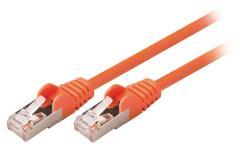 Valueline VLCP85121O05 Cat5e Sf/utp Netwerkkabel Rj45 (8/8) Male - Rj45 (8/8) Male 0,50 M Oranje