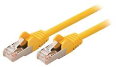 Valueline VLCP85121Y05 Cat5e Sf/utp Netwerkkabel Rj45 (8/8) Male - Rj45 (8/8) Male 0,50 M Geel