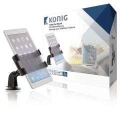 Konig KNM-FCTM11 Tablet Autohouder 360  graden Draai- En Kantelbaar 0,7 Kg