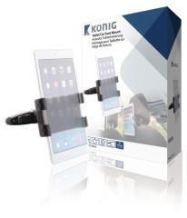Konig KNM-FCTM12 Tablet Autohouder 360  graden Draai- En Kantelbaar 0,7 Kg