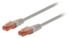 Valueline VLCT85200E025 Cat6 Utp Netwerkkabel Rj45 (8/8) Male - Rj45 (8/8) Male 0,25 M Grijs