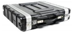 Ibiza RC2U 2u Abs Rack Case