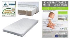Sun Garden P460 ComfortPur Anti-Allergisch Kindermatras met Stapkant 60x120x10cm