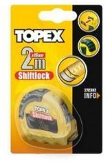 Topex Rolmaat 10 Mtr Shiftlock Nylon Gecoat