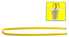 Topex 79R265 Flexibele Rubber Haak Twist And Stay 80cm