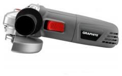 Graphite Haakse Slijper 750w, 115mm