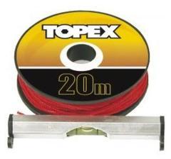 Topex Lijn Waterpas 20mtr