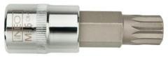Neo Tools Fijne Torx Dop M10, 55mm, 1/2 Aansluiting, S2 Staal