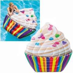 Intex Cupcake Luchtbed 142x135cm