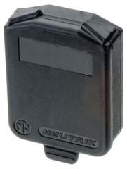 Neutrik NTR-SCDX Sealing Flap Ip 42 Zwart