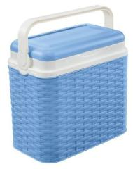 Koelbox Rotan Blauw 10L