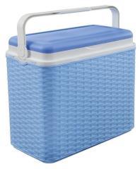 Koelbox Rotan Blauw 24L