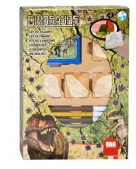 Stempeldoos Dino + Viltstiften