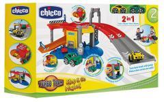 Chicco Stop & Go 2in1 Garages met 2 Auto's