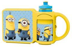 Minions Combi Set Lunchbox En Drinkfles