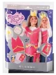 Clown Prinses Partyset voor 2 Personen voor Carnaval
