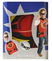 Clown Hero Verkleed Set voor Carnaval